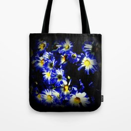 Blue Daises Tote Bag