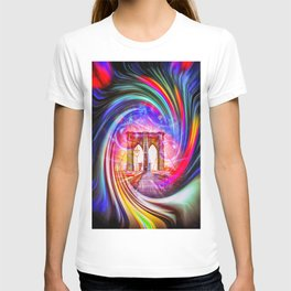 New York Brooklyn Bridge 2 T-shirt