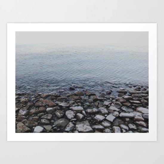 To Shore Art Print