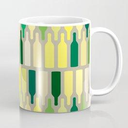 wine bottles pattern Coffee Mug