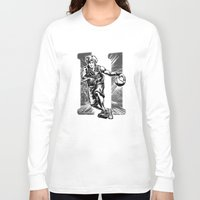 basketball Long Sleeve T-shirts featuring Basketball by Alea Lefevre