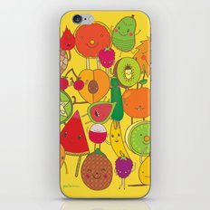 Veggies Fruits iPhone Skin