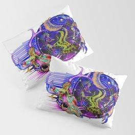 Lizard at the Dance Pillow Sham