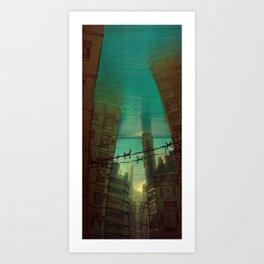 Submerged Art Print