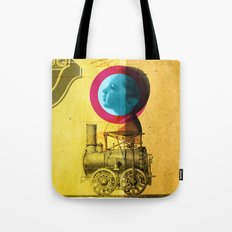 A childhood journey between reality and imagination... Tote Bag