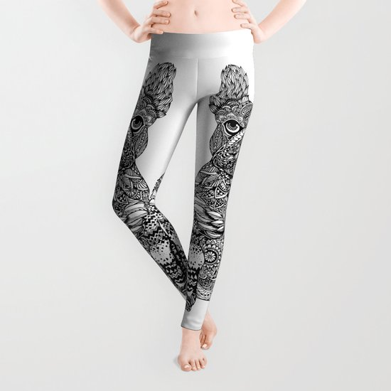 Mandala Frenchie Leggings