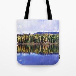 Inez Lake Montana Panorama Tote Bag