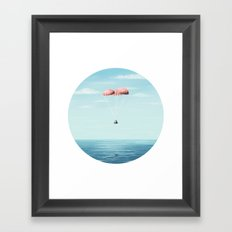 Splashdown Framed Art Print