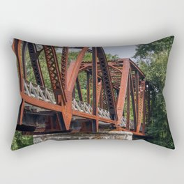 West Virginia Train Bridge Rectangular Pillow