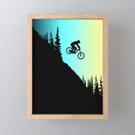 MTB Colors Framed Mini Art Print