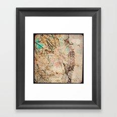 Vertebral Framed Art Print