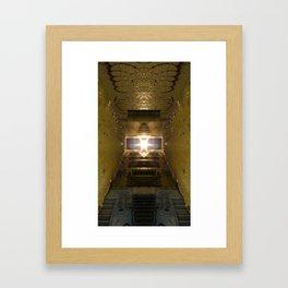 Alien Alley Framed Art Print