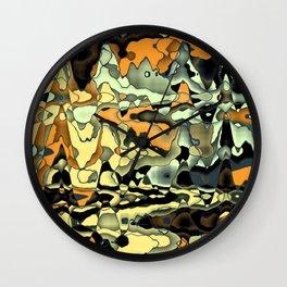 Rusty abstract Wall Clock