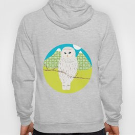 Blanche chouette Hoody