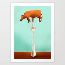 Giant's Kitchen Art Print