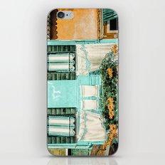 Turquoise House, Burano, Italy iPhone & iPod Skin