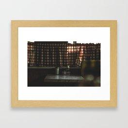 Greasy Spoon Framed Art Print