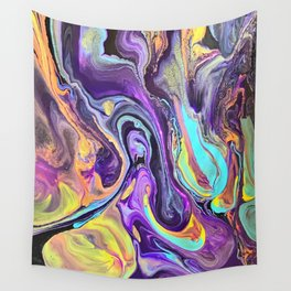 Pooling Paint 2 Wall Tapestry