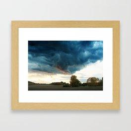 Devilswall 01 Framed Art Print
