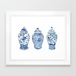 GINGER JAR TRIO Framed Art Print