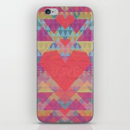 Love Me Lots iPhone Skin
