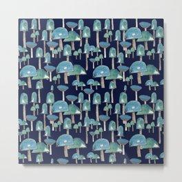 Fields of mushrooms Metal Print