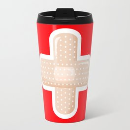 First Aid Plaster Travel Mug