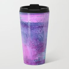 Purple Haze Background Travel Mug