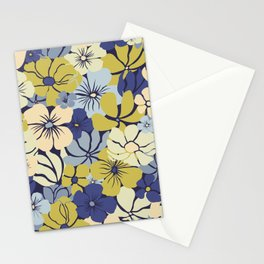 Prints of Flowers, Blue, Green, Yellow, Colour Prints Stationery Cards