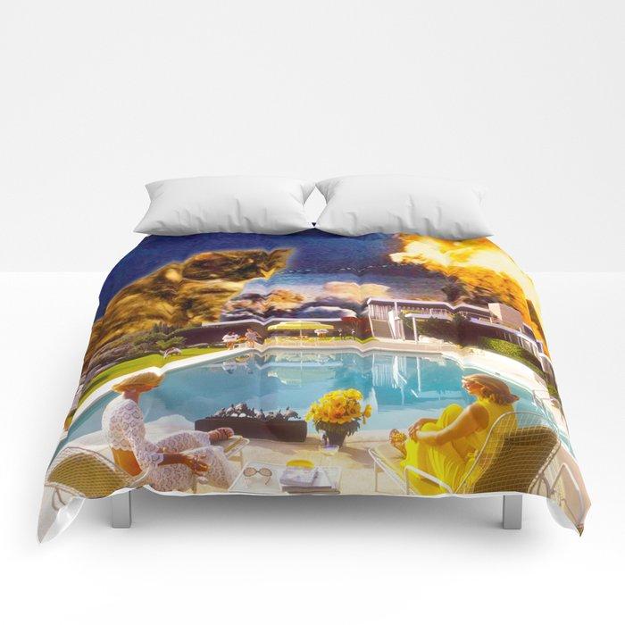Midcentury Radioactive Cuddle Unit 5 Comforters