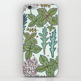 herbs pattern iPhone Skin