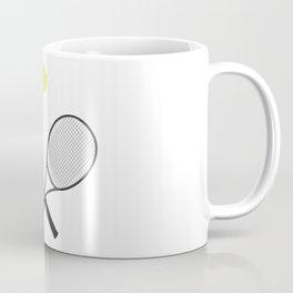 Tennis Racket And Ball 2 Coffee Mug