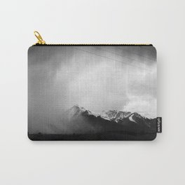 Faded Days At The Top Of The World Carry-All Pouch