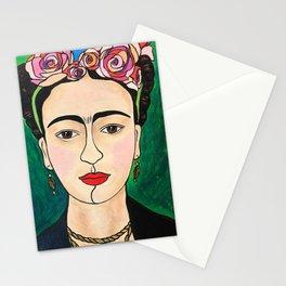 Frida Khalo Portrait Stationery Cards