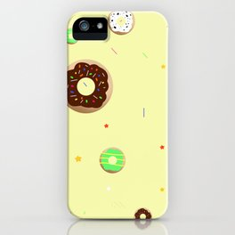 A Sprinkle of Doughnuts iPhone Case