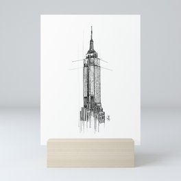 Empire State Building - NYC Mini Art Print