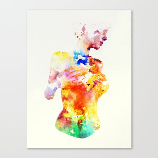 Crayon Canvas Print