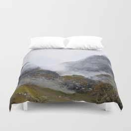 Nameless Mountains Duvet Cover