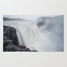 The greatest waterfall in Europe Rug