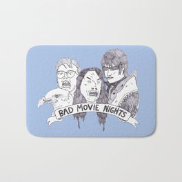 Bad Movie Nights (Oliver Ryder) Bath Mat