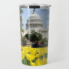 US Capitol Travel Mug