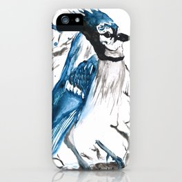 True Blue Jay iPhone Case