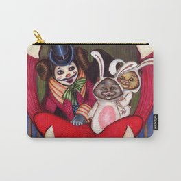 Bella and cats Carry-All Pouch
