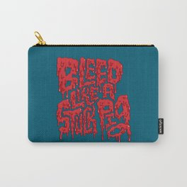 Bleed Like A Stuck Pig Carry-All Pouch
