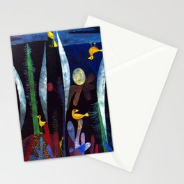 Paul Klee Landscape with Yellow Birds Stationery Cards
