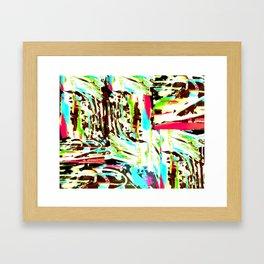 Splotches Framed Art Print