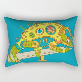 Chameleon, cool wall art for kids and adults alike Rectangular Pillow