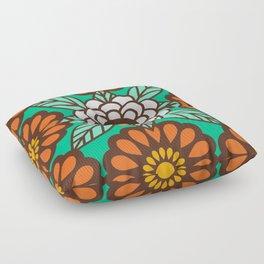 Betty Flowers Floor Pillow