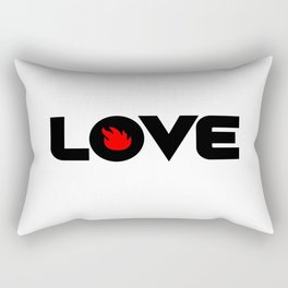 Love Audioslave Rectangular Pillow