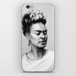 Portrait of Frida Kahlo iPhone Skin